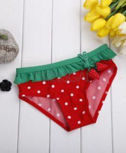 Watermelon kids swimsuit bottom