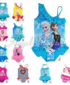 Elsa frozen girls 1piece swimsuit
