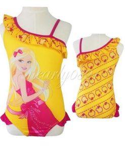 Girls-Toddlers-Swimsuit-Swimwear-Barbie-Princess-Bathers-Bathing